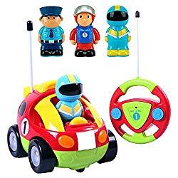 Lightning Fast Cartoon R/C Car for Children