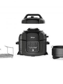 Ninja Foodi 1400-Watt Multi Cooker, Pressure Cooker, Steamer & Air Fryer w/ TenderCrisp Technology,